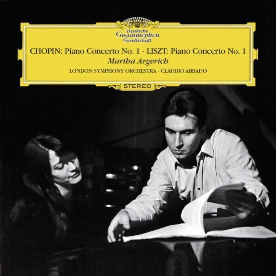Cover Chopin: Piano Concerto No.1 In E Minor, Op.11 / Liszt: Piano Concerto No.1 In E Flat, S.124