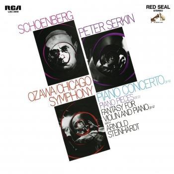 Cover Schoenberg: Piano Concerto, Op. 42, 5 Piano Pieces, Op. 23 & Phantasy, Op. 47 (Remastered)