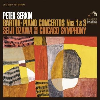 Cover Bartók: Piano Concertos No. 1 & No. 3 (Remastered)