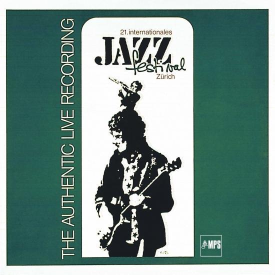 Cover Zürich Jazz Festival 1971 (Remastered - Live)