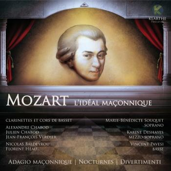 Cover Mozart: l'idéal maçonnique