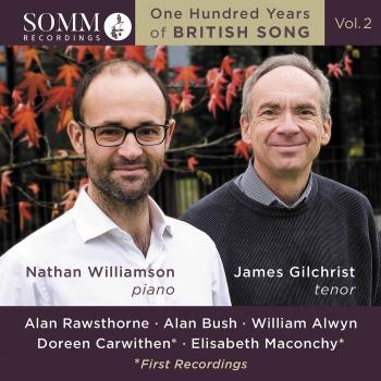 Cover One Hundred Years of British Song, Vol. 2