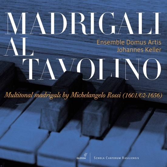 Cover Madrigali al tavolino