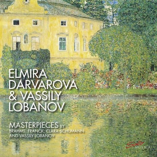 Cover Masterpieces by Brahms, Franck, Clara Schumann & Vassily Lobanov