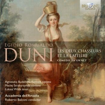 Cover Duni: Les deux chasseurs et la laitière