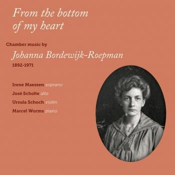 Cover Johanna Bordewijk-Roepman: From the Bottom of My Heart