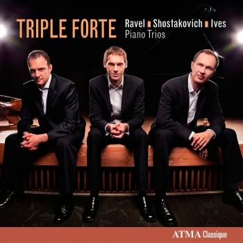 Cover Ravel, Shostakovich & Ives: Piano Trios