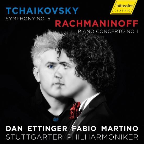 Cover Tchaikovsky: Symphony No. 5 in E Minor - Rachmaninoff: Piano Concerto No. 1 in F-Sharp Minor