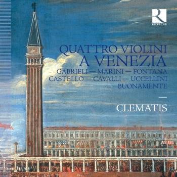 Cover Quattro violoni a Venezia