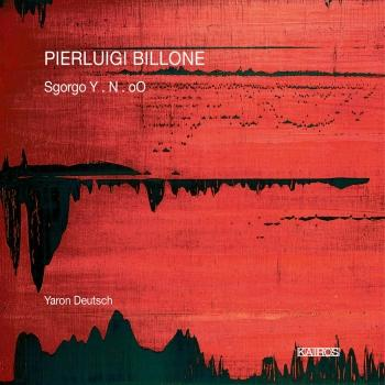 Cover Pierluigi Billone: Sgorgo Y, N & Oo