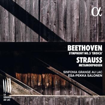 Cover Beethoven: Symphony No. 3 'Eroica' - Strauss: Metamorphosen