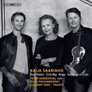 Cover Kaija Saariaho: Circle Map, Graal théâtre, Vers toi qui es si loin & Neiges