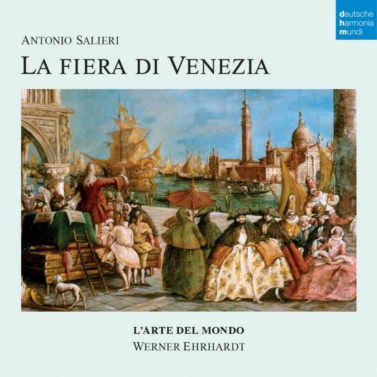 Cover Antonio Salieri: La Fiera di Venezia