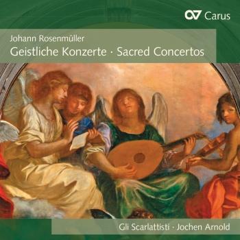 Cover Rosenmüller: Sacred Concertos