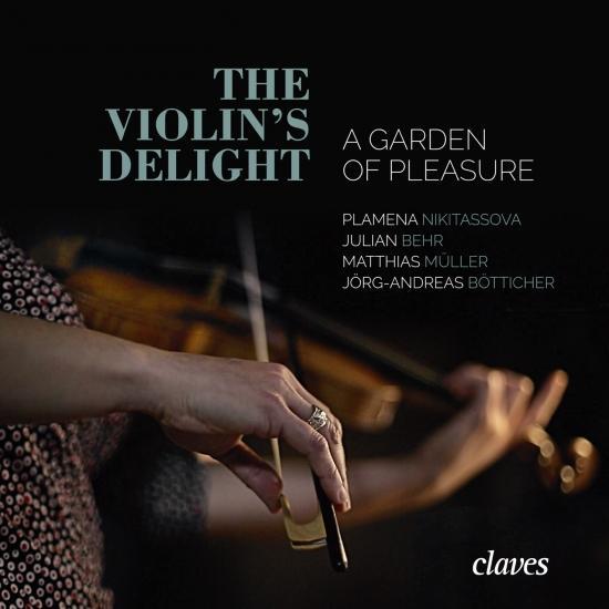 Cover The Violin's Delight - A Garden of Pleasure