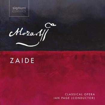 Cover Mozart: Zaide