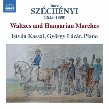 Cover Széchényi: Waltzes & Hungarian Marches