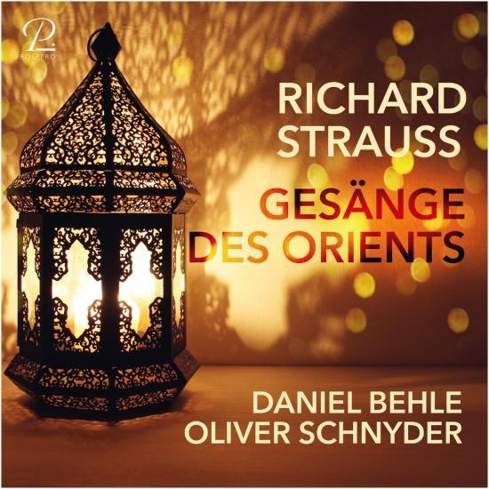 Cover Richard Strauss: Gesänge des Orients