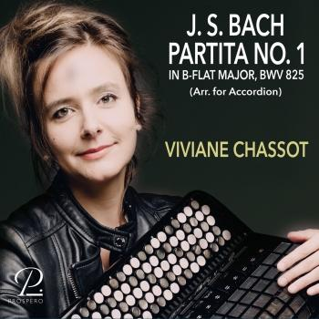 Cover Bach: Partita No. 1 in B-Flat Major (Arr. for Accordion)