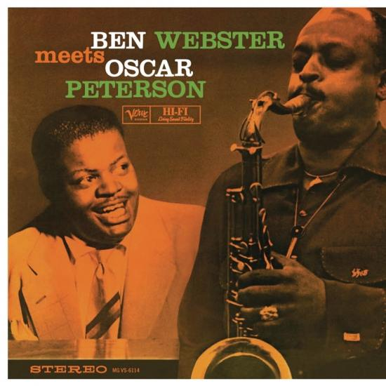 Cover Ben Webster Meets Oscar Peterson (Remastered)