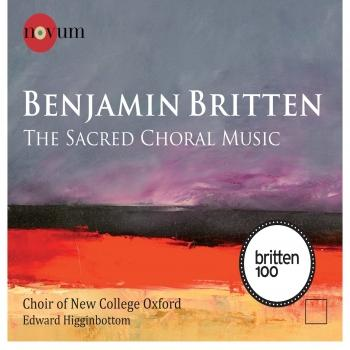 Cover Britten The Sacred Choral Music