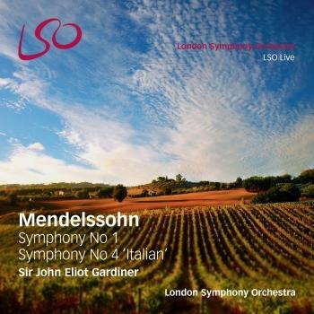 Cover Mendelssohn: Symphonies Nos. 1 & 4, Italian