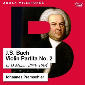 Cover Bach: Violin Partita No. 2, BWV 1004