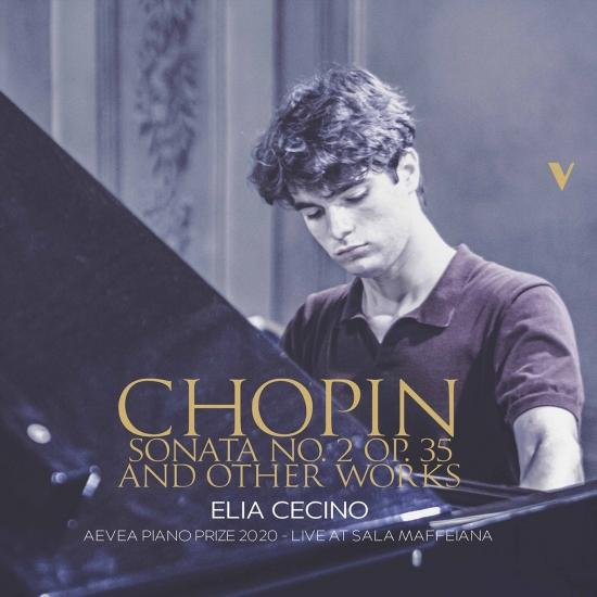 Cover Chopin: Piano Sonata No. 2 in B Minor, Op. 35 & Other Works (Live)