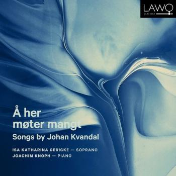 Cover Å her møter mangt - Songs by Johan Kvandal