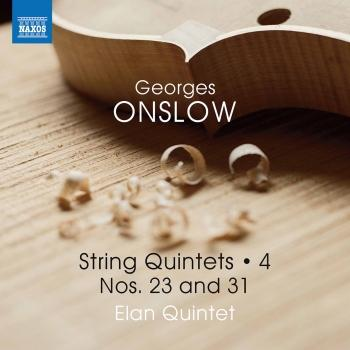 Cover Onslow: String Quintets, Vol. 4 – Nos. 23 & 31