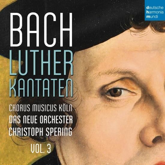 Cover Bach: Lutherkantaten, Vol. 3 (BWV 126, 4, 2, 7)