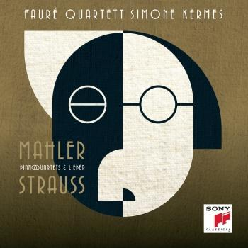 Cover Strauss & Mahler - Piano Quartets & Lieder