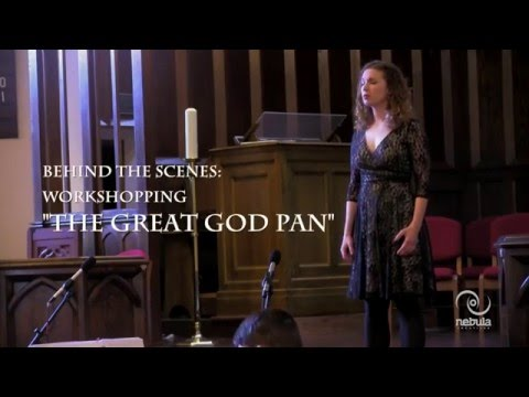 Video Behind The Scenes: Ross Crean's opera 'The Great God Pan'