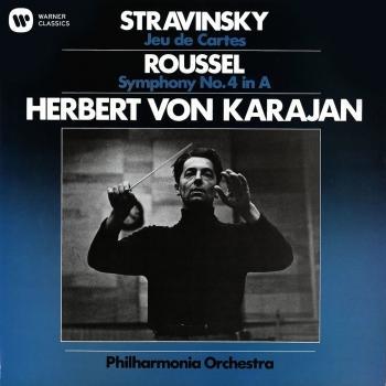 Cover Stravinsky: Jeuu de Cartes / Roussel: Symphony No. 4
