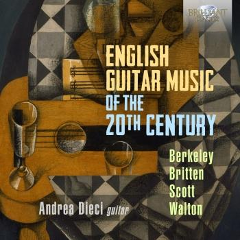 Cover English Guitar Music of the 20th Century, Berkeley, Britten, Scott & Walton