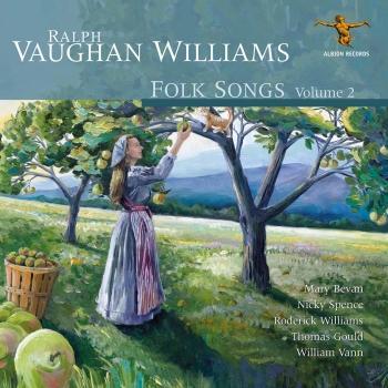 Cover Ralph Vaughan Williams: Folk Songs, Vol. 2