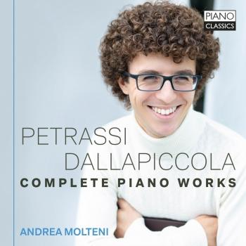 Cover Petrassi, Dallapiccola: Complete Piano Works