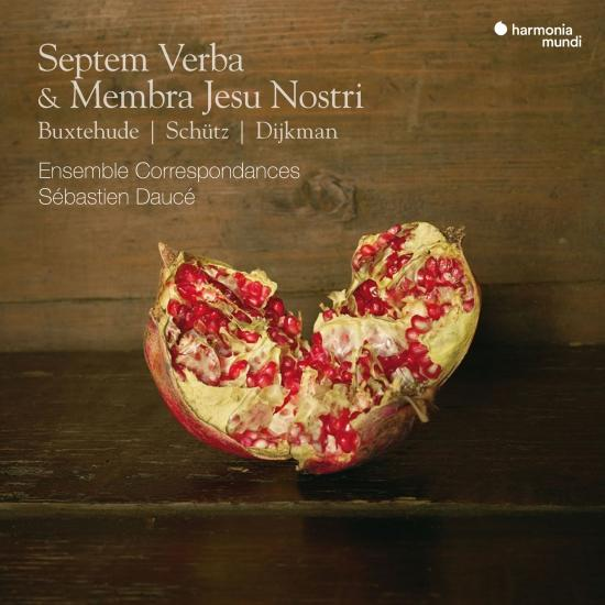 Cover Septem Verba & Membra Jesu Nostri
