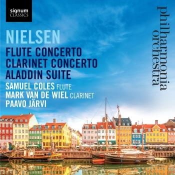 Cover Nielsen: Flute Concerto - Clarinet Concerto - Aladdin Suite