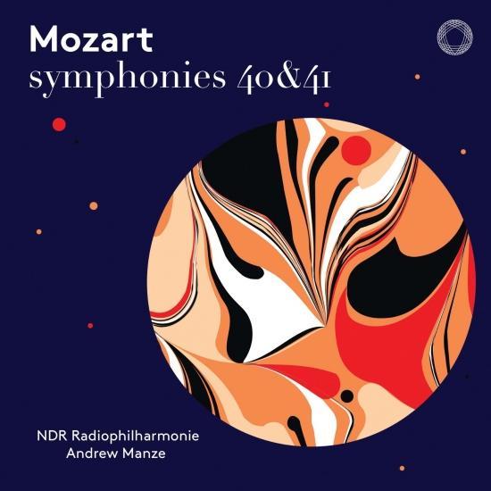 Cover Mozart: Symphonies Nos. 40 & 41 (Live)