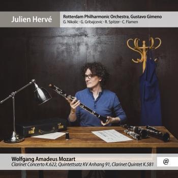 Cover Mozart: Clarinet Concerto, Clarinet Quintet & Quintettsatz, K.Anh.91