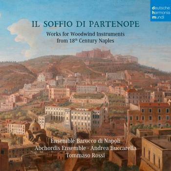 Cover Il soffio di Partenope - Music for Woodwinds from 18th Century Naples