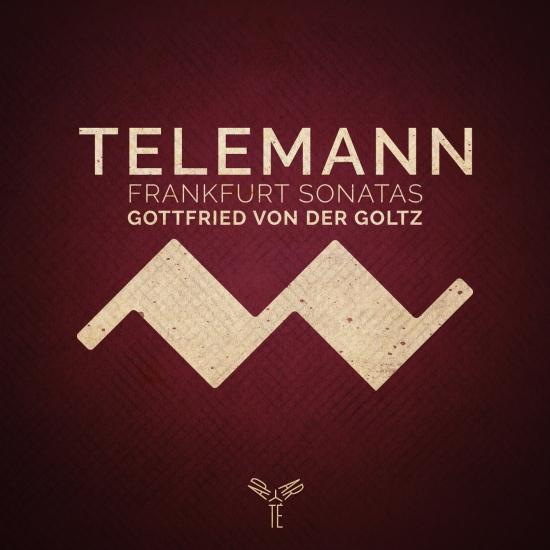 Cover Telemann: Frankfurt Violin Sonatas