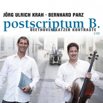 Cover postscriptum B. - Beethoven-Katzer Kontraste