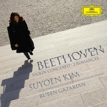 Cover Beethoven Violin Concerto, 2 Romances