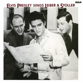 Cover Elvis Sings Leiber and Stoller