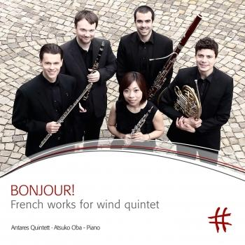 Cover Bonjour!: French Works for Wind Quintet