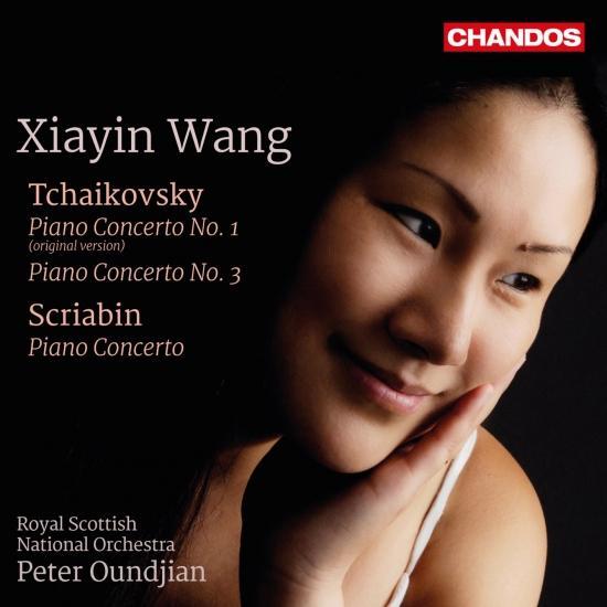 Cover Tchaikovsky: Piano Concertos Nos. 1 & 3 - Scriabin: Piano Concerto, Op. 20