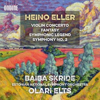 Cover Eller: Violin Concerto, Fantasy, Symphonic Legend & Symphony No. 2