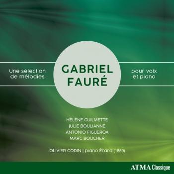 Cover Fauré: Une sélection de mélodies pour voix et piano